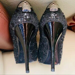 Louis Vuitton Oh Really Peep toe Heels